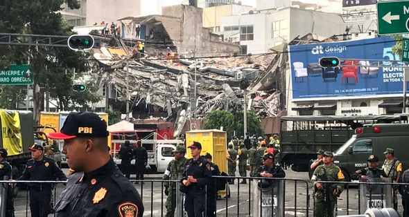 Mexico Earthquakes carousel slide