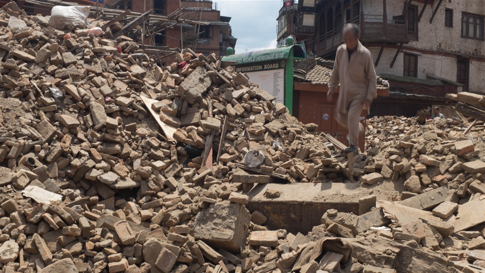 Nepal earthquake damage